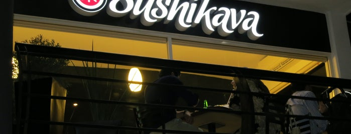 Sushi Kava MADERO is one of Guillermo : понравившиеся места.