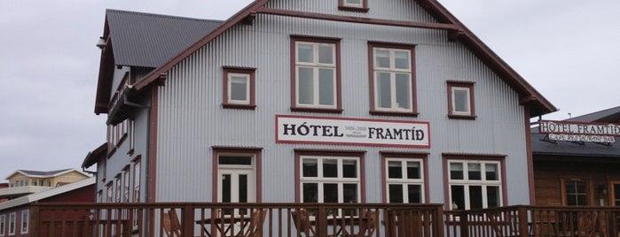 Hótel Framtíð is one of Lugares favoritos de David.