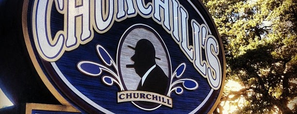 Churchill's Pub is one of Savannah.