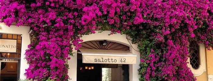 Salotto 42 is one of Rome.