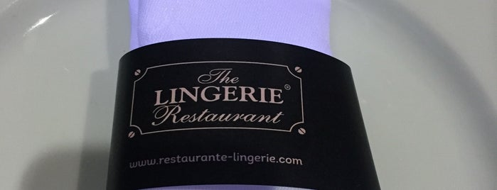 The Lingerie Restaurant is one of Restaurantes (Grande Porto).