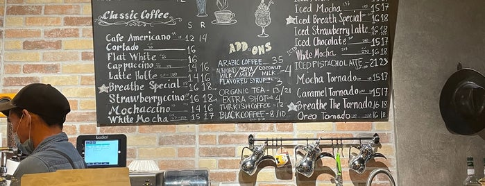 Breathe Coffee is one of Tempat yang Disimpan Queen.
