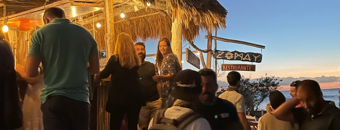Zomay Beach Bar is one of México/ Yucatan.
