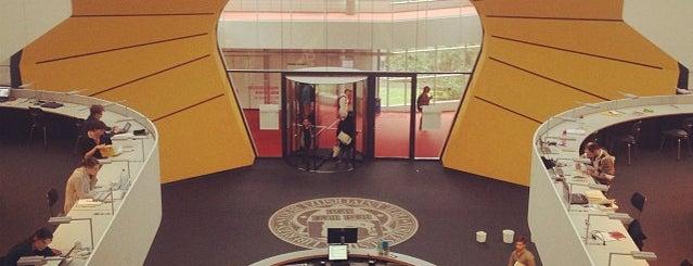 Philologische Bibliothek der FU Berlin is one of 1 | 111 Orte in Berlin die man gesehen haben muss.
