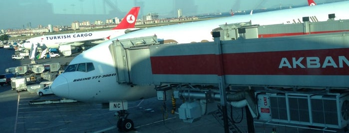 Gate 226 is one of İstanbul Atatürk Airport.