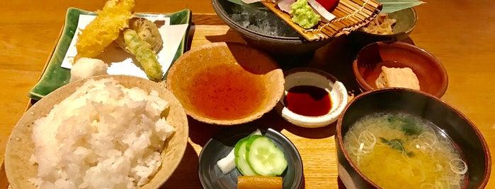 Gohanya Isshin is one of Tokyo Eats.