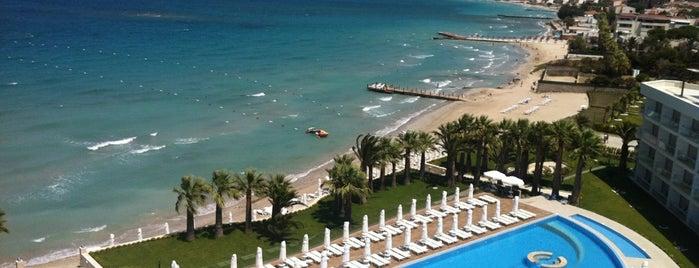 Boyalık Beach Hotel & SPA is one of İzmir'de yaşama sanatı.