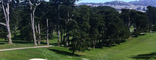 The Olympic Club Golf Course is one of San Fran.
