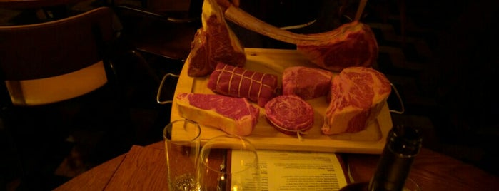 Bowery Meat Company is one of The Steakhouse List.