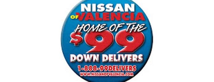 Nissan Of Valencia is one of randi : понравившиеся места.