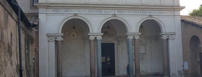 Basilica di San Sebastiano fuori le mura is one of Rome / Roma.