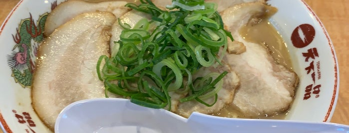 天下一品 1号線下鳥羽店 is one of 天下一品全店巡り.