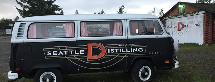 Seattle Distilling Company is one of Whiskey in Seattle.