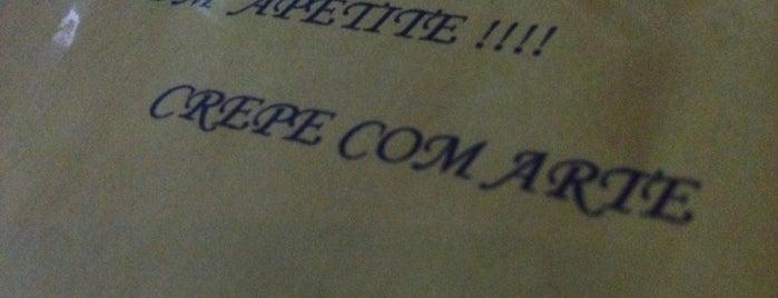 Crepe Com Arte is one of Restaurantes.