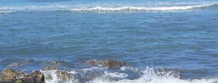 Praia de Camburi is one of Tempat yang Disukai Cris.