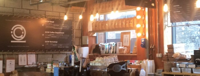 Doppio Coffee Warehouse is one of Speciality Coffee Shops Part 3 (London).