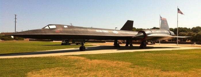 SR-71 Display Park is one of Aerospace Museums.