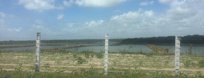 Fazenda de Camarão is one of Barra de Cunhaú.