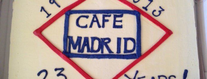 Café Madrid is one of My Favorite Spots in Dallas.