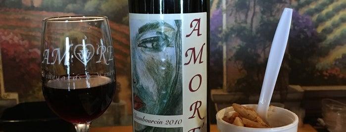 Amore Vineyards & Winery is one of Vineyards, Breweries, Beer Gardens.