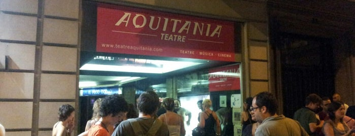 Aquitània Teatre is one of Victoriaさんのお気に入りスポット.
