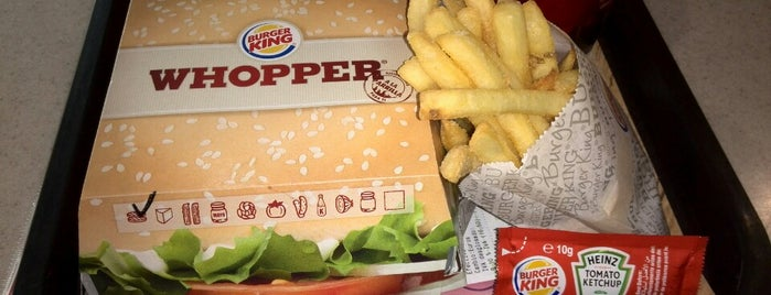 Burger King is one of Tempat yang Disukai Carl.