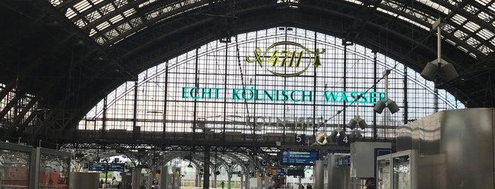 Köln Hauptbahnhof is one of Posti che sono piaciuti a Kawika.