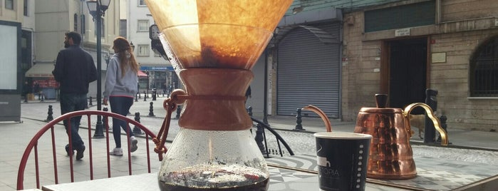 Coffeetopia is one of Istanbul.