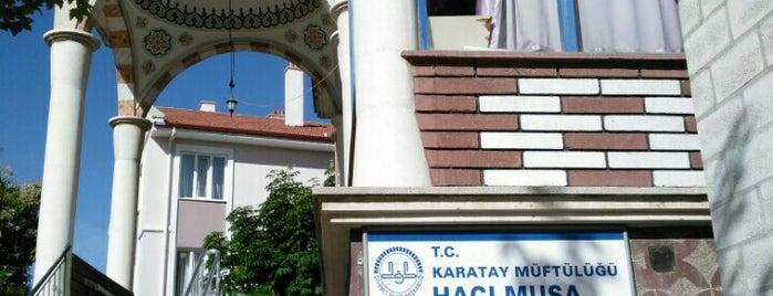 Hacı Musa Faydasıçok Camii is one of Konya Karatay Mescit ve Camileri.
