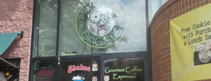 Mickey C's Bagels is one of Lugares guardados de Sarah.