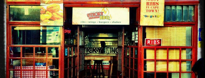 Sticky Fingers BBQ is one of When in Cape Town.