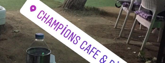 """Champions Cafe&Bİstro is one of Aslında bir film Çekimi gibidir Hayat , tam mutlu oldum derken, Yönetmenden ses gelir; """"KESTİK""""'ın Beğendiği Mekanlar."""