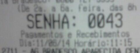 Banco Bradesco is one of Melhor atendimento.