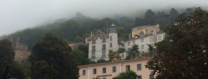 Sintra is one of Lieux qui ont plu à Tahsin.