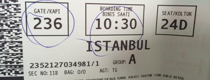 İzmir Adnan Menderes Havalimanı (ADB) is one of Lieux qui ont plu à Tahsin.