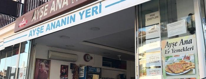 Ayşe Ana'nın Yeri is one of Tempat yang Disukai Tahsin.