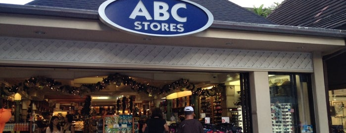 ABC Stores #37 is one of Hawaii Omiyage.