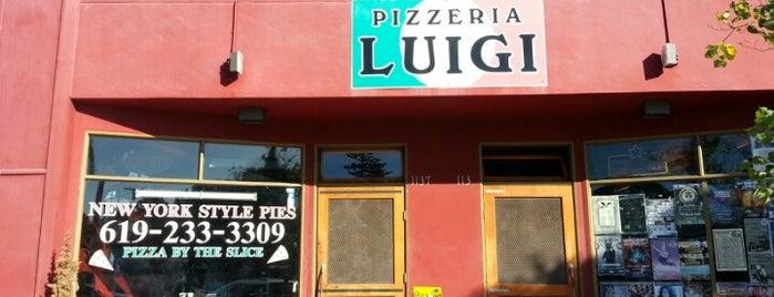 Pizzeria Luigi is one of Grub.