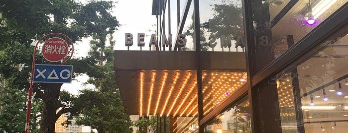 BEAMS is one of Shops Tokyo.