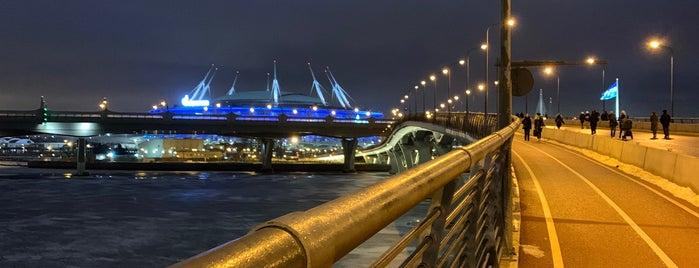 Yahtenny Bridge is one of สถานที่ที่ Stanislav ถูกใจ.