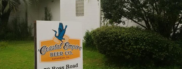 Coastal Empire Beer Co. is one of Georgia Breweries.