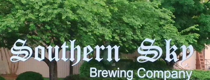 Southern Sky Brewing Company is one of Breweries or Bust 3.