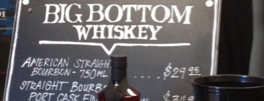 Big Bottom Whiskey is one of Oregon Distillery Trail.