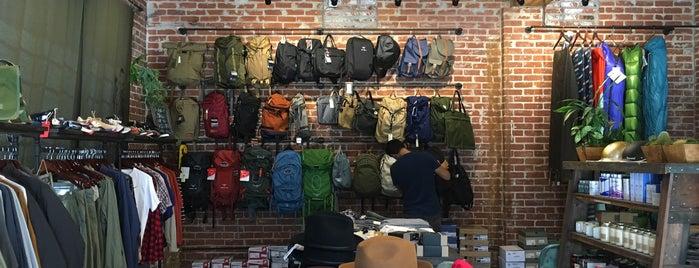 Hatchet Outdoor is one of LA Top Shops.