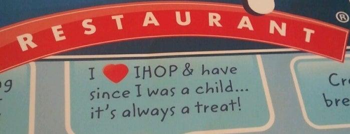 IHOP is one of Divya'nın Beğendiği Mekanlar.