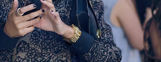 AOL Media Lounge, Mercedes-Benz Fashion Week is one of Gespeicherte Orte von Missy.