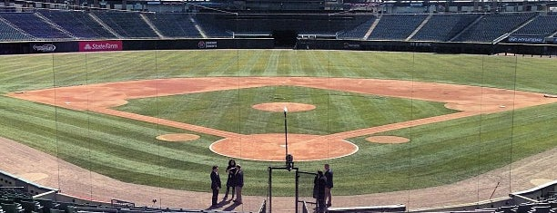 Guaranteed Rate Field is one of MLB parks.