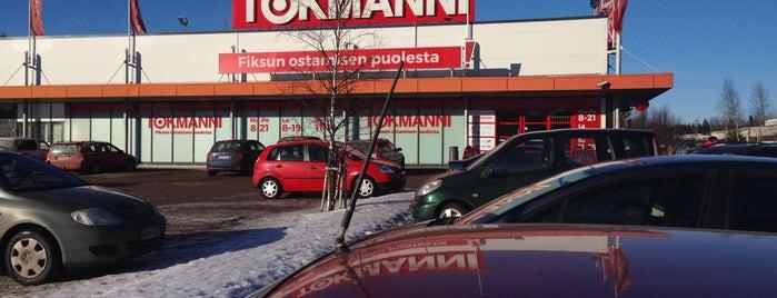 Tokmanni is one of Ostohelvetit.