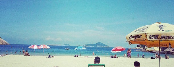 Shek O Beach is one of Hong Kong.