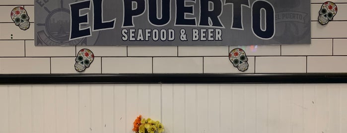 EL Puerto Seafood By The Park is one of TheDL 님이 좋아한 장소.